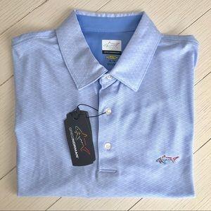 NWT Greg Norman Polo - Light Blue, Size XL